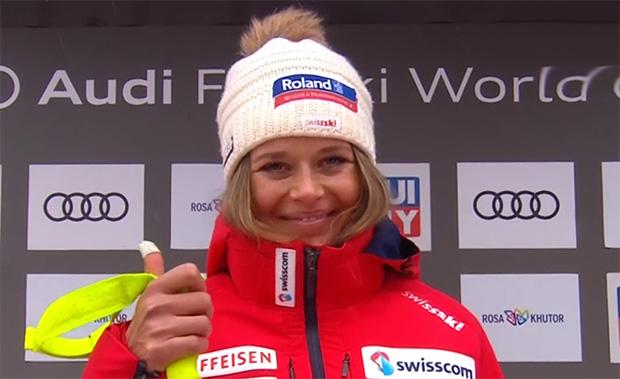 Corinne Suter entscheidet Abfahrtstraining in Garmisch-Partenkirchen für sich