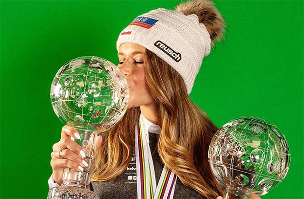 Skiweltcup.TV kurz nachgefragt: Heute Corinne Suter (Foto: © Corinne Suter / Instagram)