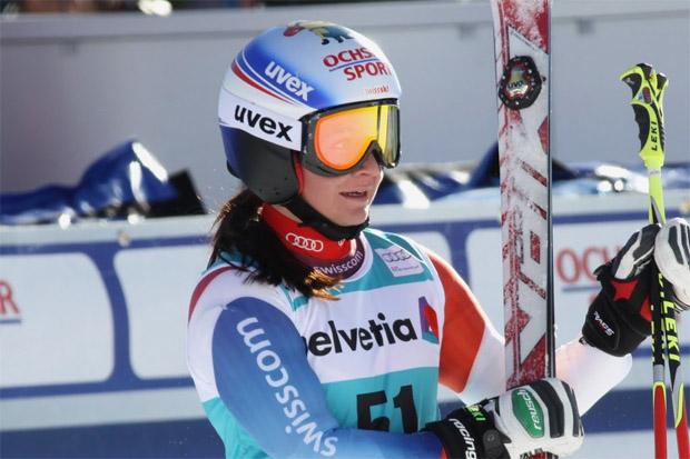 © Gerwig Löffelholz / Jasmina Suter ist Junioren Riesenslalom-Weltmeisterin 2016
