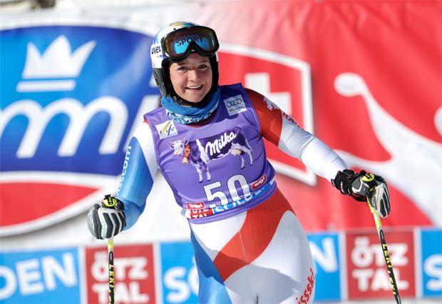 """© Kraft Foods / Jasmina Suter im Skiweltcup.TV: """"Mein Ziel ist es, in Sölden an den Start zu gehen."""""""