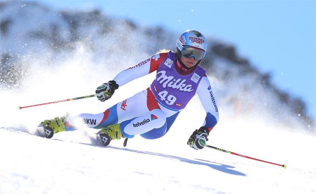 Jasmina Suter gewinnt Europacup-Super-G in Crans Montana (© Kraft Foods / Jasmina Suter)