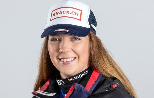 Juliana Suter krönt sich zur Junioren-Weltmeisterin in der Abfahrt (Foto: Swiss-Ski)