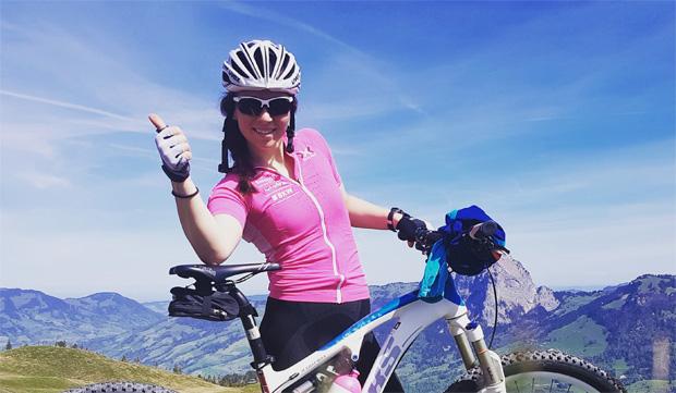 """Raphaela Suter: """" Es ist gut für den Kopf und den Körper, wenn man im Sommer etwas anders und vielseitiger trainieren kann."""""""