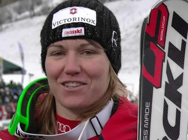 Fabienne Suter mit Knieverletzung