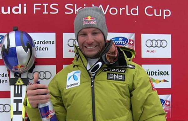 Aksel Lund Svindal gewinnt Super G in Gröden