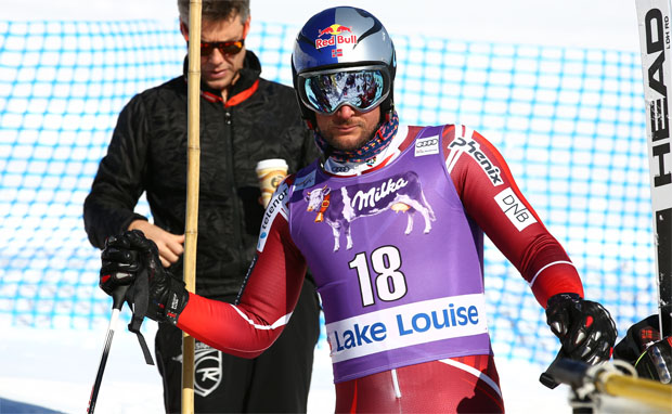 © Kraft Foods / Aksel Lund Svindal feiert in Lake Louise sein Skiweltcup Comeback
