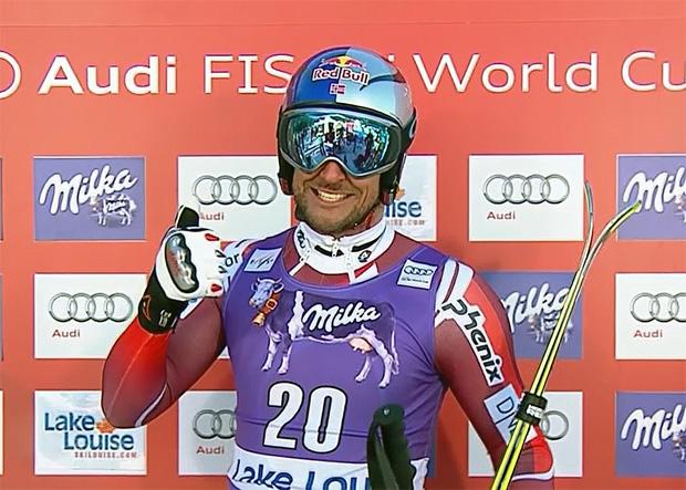 Aksel Lund Svindal gewinnt Abfahrt von Lake Louise
