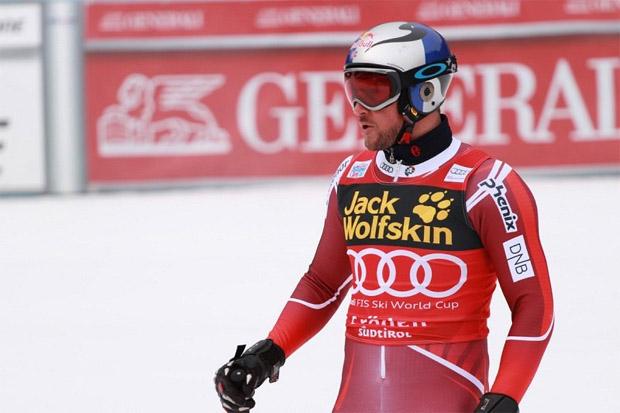 "© saslong.org / Trainingsschnellster Svindal: ""Ciaslat war unruhig, Schnee wird härter."""