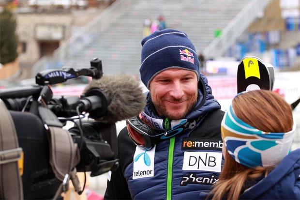 """© saslong.org /  Svindal: """"Es ist nie einfach, ein Rennen zu gewinnen"""""""