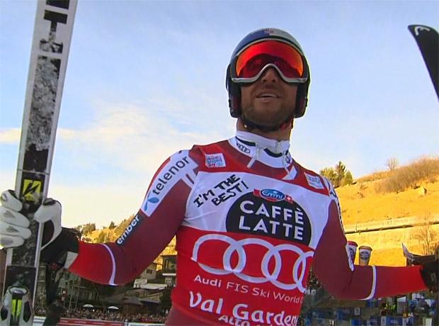 Aksel Lund Svindal gewinnt Super-G in Gröden / Val Gardena