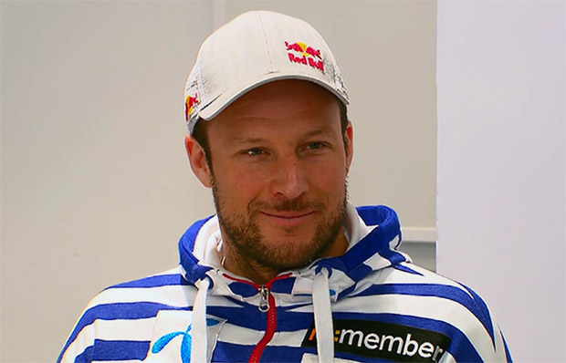 Aksel Lund Svindal Ehrengast beim Giro d'Italia