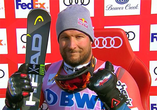 Aksel Lund Svindal gewinnt Abfahrt auf der Birds of Prey