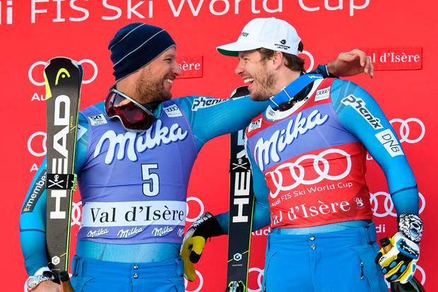© HEAD / Werden Aksel Lund Svindal und Kjetil Jansrud auch in der Abfahrt den Sieg unter sich ausmachen?