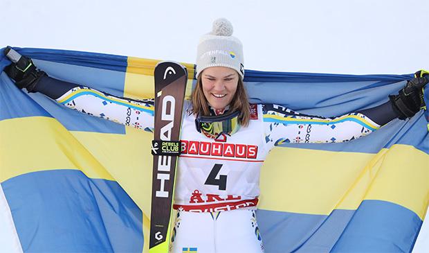 Ironie des Schicksals: Anna Swenn-Larsson positiv auf COVID-19 getestet. (© HEAD/Christophe Pallot/AGENCE ZOOM)