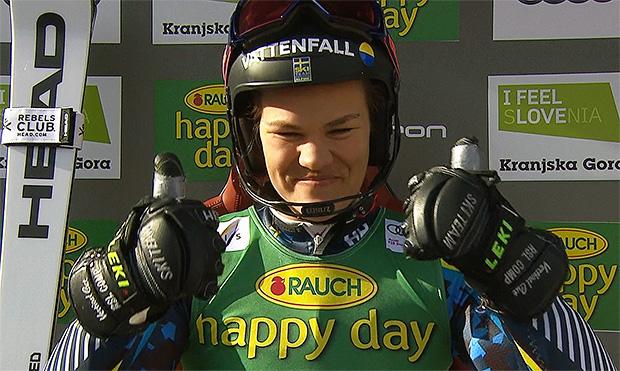 Anna Swenn Larsson erster Weltcupsieg ist mehr als fällig