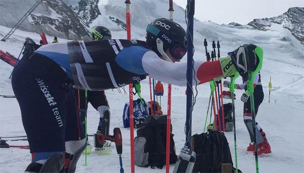 Voller Einsatz im Technik-Camp (Foto: Swiss-Ski.ch)