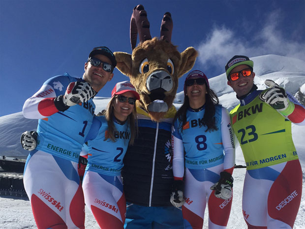 Swiss-Ski News: Werbewoche 2016 in Saas Fee (Foto: Simon Linder/ Swiss-Ski)