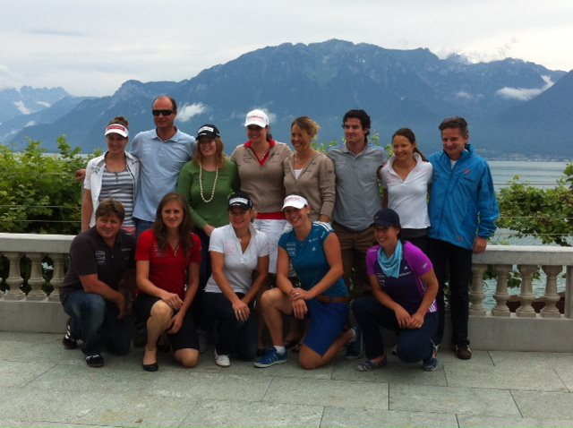 © Alpiq / Nach zwei Monaten intensiven Konditionstrainings konnten die Athletinnen des Damen Alpin-Teams für einen Tag etwas auspannen.