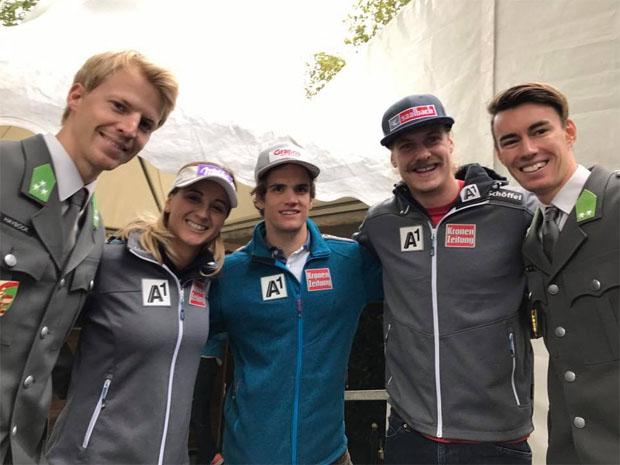 Das war der Tag des Sports mit unseren ÖSV Stars! Vielen Dank fürs dabei sein ! (Foto: AustriaSkiTeamLadies / Facebook)