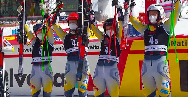 Норвегия выиграла командный заезд на финале Кубка мира по лыжным гонкам в Ленцерхайде