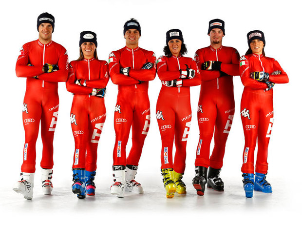 © Archivio FISI / Azurblaues Skiteam im Dauereinsatz