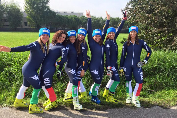 © Elena Fanchini / Team Italia macht aus Blau Rot
