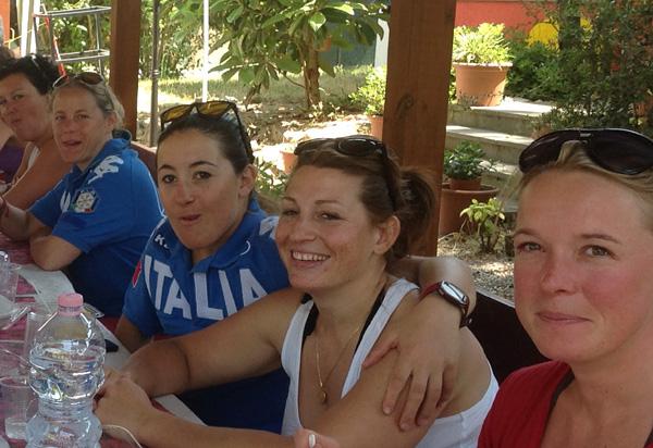 © fisi.org  /  Italiens Damen im heißen Ravenna