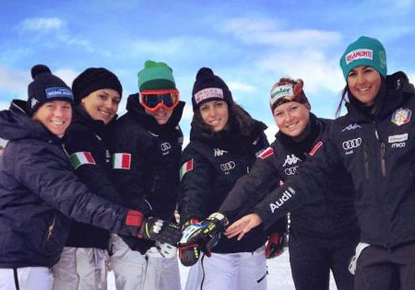 © fisi.org  /  Technik Damen Team Italien