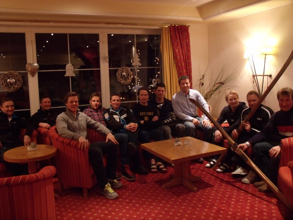 Das Schwedische Nationalteam zu Gast im Hotel Seppl **** in Mutters.