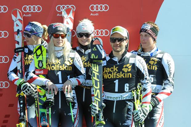 © Ch. Einecke (CEPIX) / Österreich Platz 3 beim Teamwettbewerb in Lenzerheide