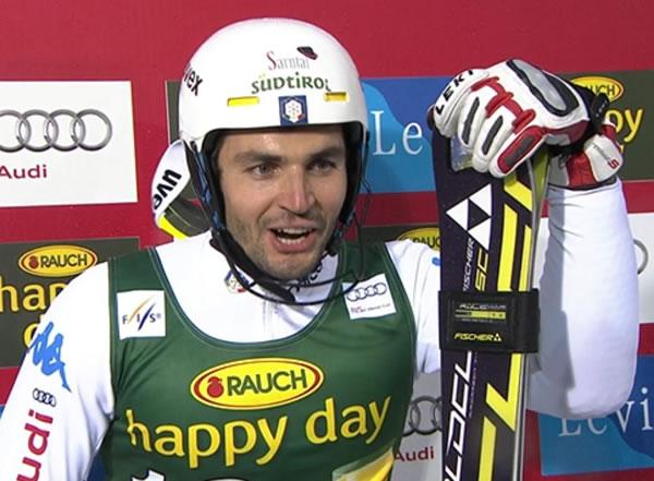 Patrick Thaler freute sich über Platz 5 in Levi