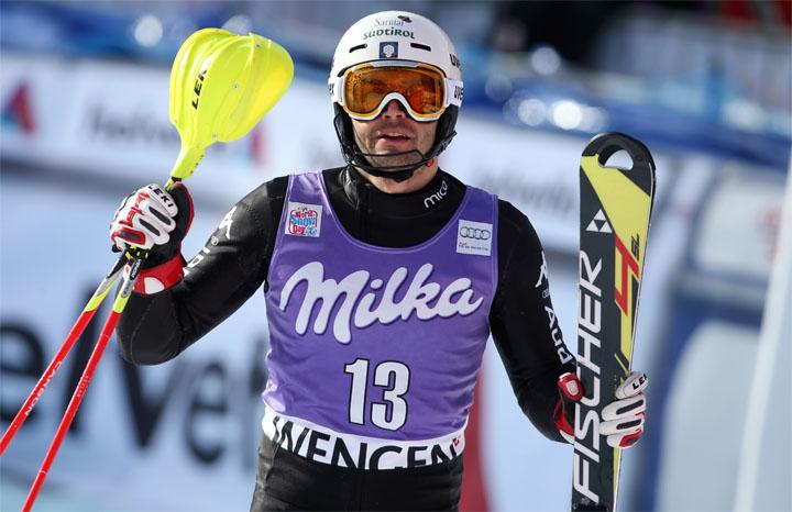 © Kraft Foods / Patrick Thaler - ein Lichtblick im italienischen Slalomteam