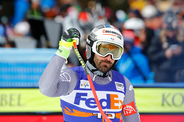 Adrien Théaux beginnt sein Sommertraining in Les Deux Alpes (© HEAD / Gabriele Facciotti / AGENCE ZOOM)