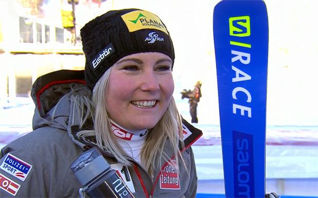 Tamara Tippler mit Bestzeit beim 1. WM-Abfahrtstraining in Are