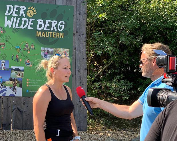 Fan-Wanderung mit Tami Tippler war ein Erfolg (© Tamara Tippler / privat)