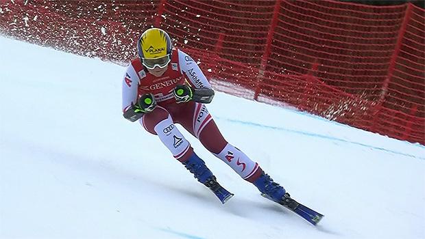 Tamara Tippler kann sich über Platz 3 beim Super-G in Garmisch-Partenkirchen freuen