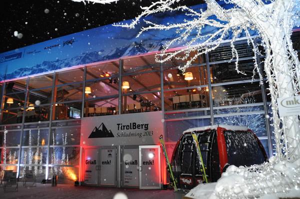 © Tirol Werbung / Der TirolBerg, die Hospitality-Plattform der Tirol Werbung und ihrer Partner, öffnete bereits einen Tag vor der Ski-WM seine Pforten.