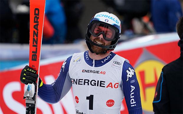 Riccardo Tonetti hat das Ski Weltcup Podest noch nicht aus den Augen verloren (Foto: © Archivio FISI / Gio Auletta / Pentaphoto)