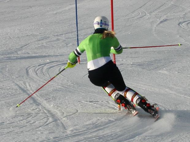 Training statt Europacuprennen in Andalo