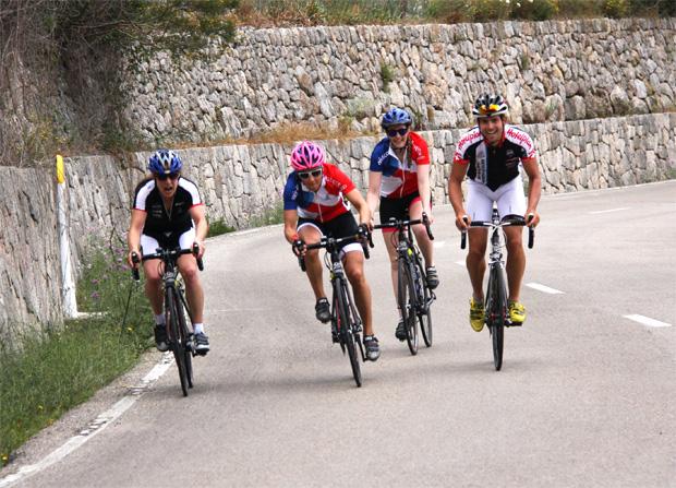 © swiss-ski.ch / Die Königsetappe in Mallorca stand auf dem Programm