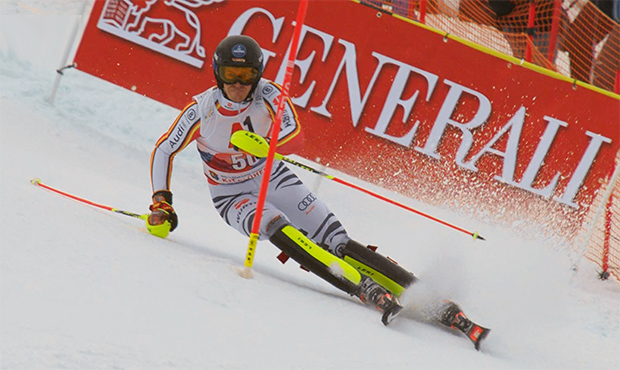 ...... und Anton Tremmel küren sich zum deutschen Slalommeister 2021