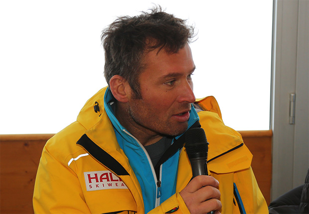 © hahnenkamm.com /  FIS Renndirektor Hannes Trinkl