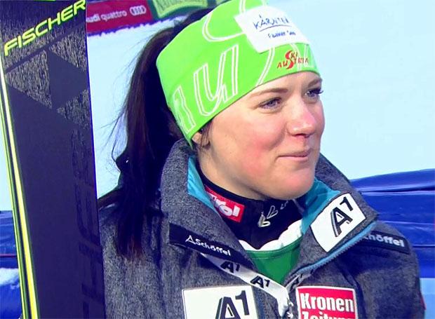 Erste Weltcuppunkte für Katharina Truppe