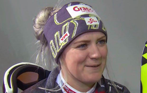 Katharina Truppe  verlor das Duell mit Wendy Holdener