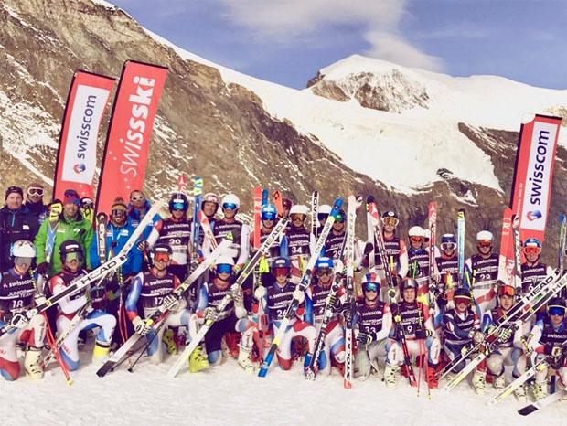 Swiss Ski News: Swisscom Speed-Kurs U18 in Saas-Fee (Foto: Swiss-Ski.ch)
