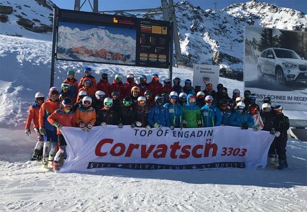 © swiss-ski.ch / 50 junge Talente profitierten vom Speedcamp in Corvatsch, 30 in La Tzoumaz.