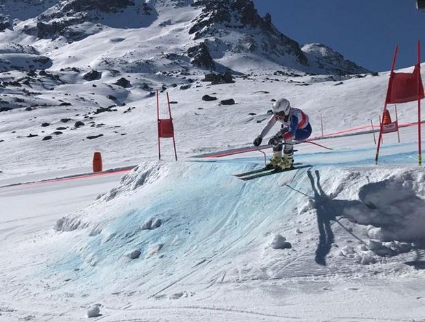 © swiss-ski.ch / Auf dem Trainingsprogramm standen auch Sprünge.