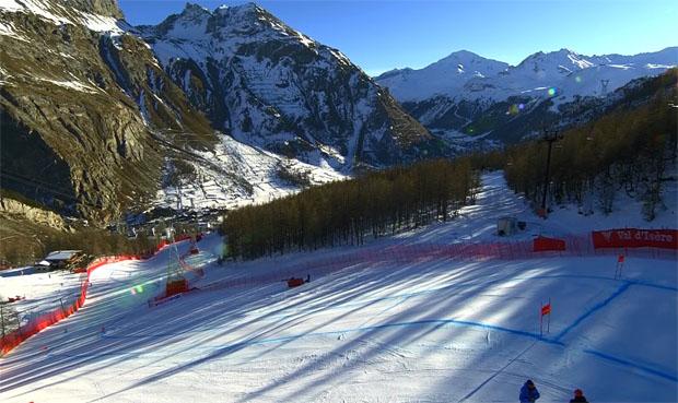 Programmwechsel in Val d'Isere: Keine Damenabfahrt am Samstag