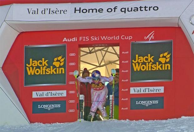 Start bei der Damenabfahrt in Val d'Isère nach unten verlegt