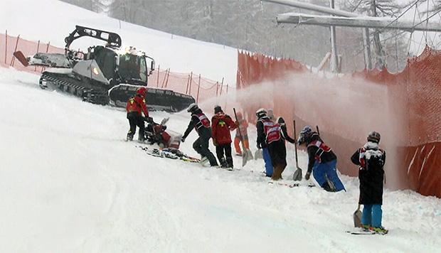Blick auf die Wetterprognose für das kommende Wochenende in Val d'Isère
